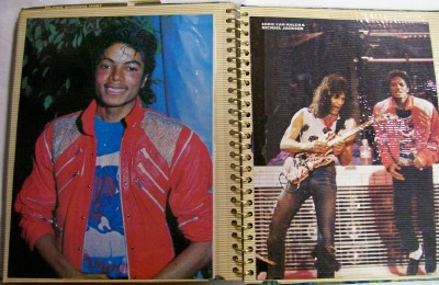 Vintage Michael Jackson Scrapbook - #2 Of 3