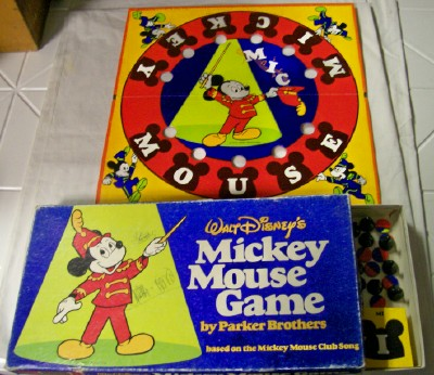 Walt Disney's Mickey Mouse Board Game By Parker Brothers