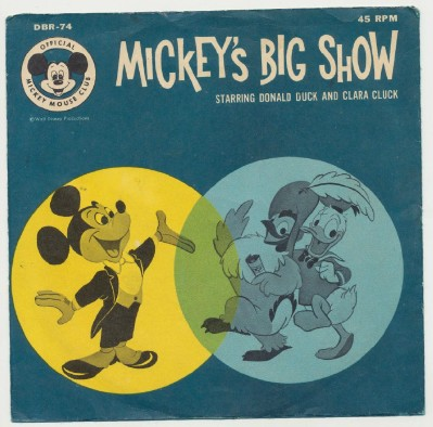 Mickey's Big Show - Mickey Mouse Club EP With Picture Sleeve