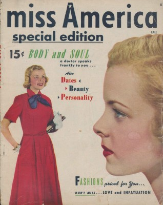 Vintage Fall 1949 Miss America Special Edition Teen Magazine