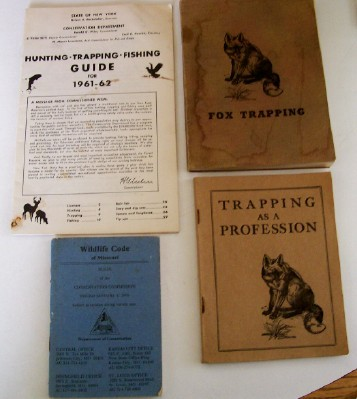 1922-1978 Hunting & Trapping Mixed Memorabilia Lot