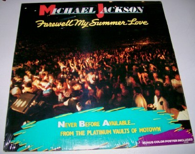 Michael Jackson Farewell My Summer Love LP - Mint Sealed