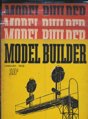 1942 Lionel Model Railroad Train Model Builder Magazine Lot