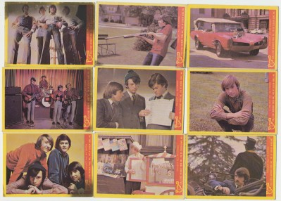 1967 Monkees Photo Trading Card Lot Of 18
