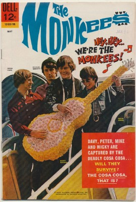May 1967 Monkees Comic Book #2