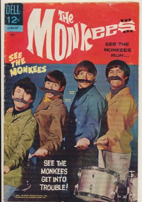 July 1967 Monkees Comic Book #3