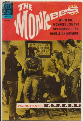 October 1967 Monkees Comic Book #5