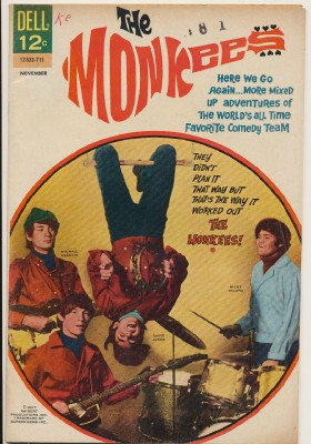 November 1967 Monkees Comic Book #6