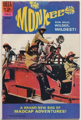 December 1967 Monkees Comic Book #7