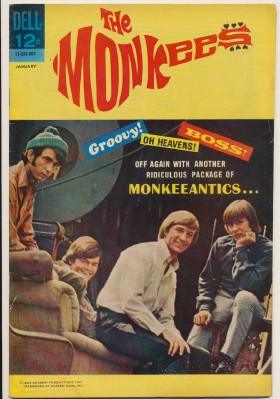 January 1968 Monkees Comic Book #8