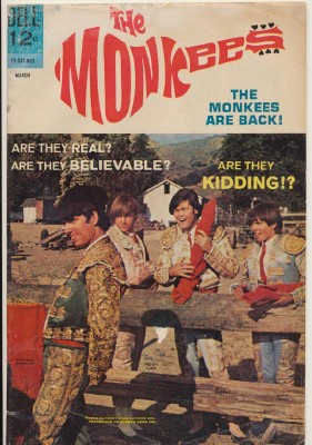 March 1968 Monkees Comic Book #10