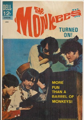 June 1968 Monkees Comic Book #12