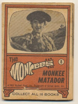 1967 Monkees Flip Book - Monkee Matador
