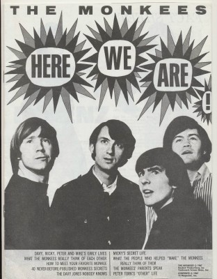 1967 Monkees - Here We Are - Bios & Parents' Memories