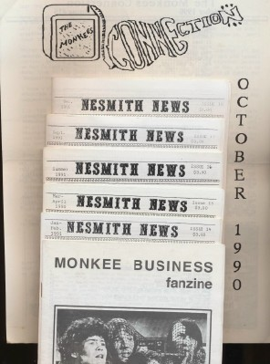 Monkees Fan Club Lot--Business Fanzine Connection & Nesmith News
