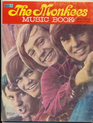 1966 Monkees Guitar Sheet Music Song Book