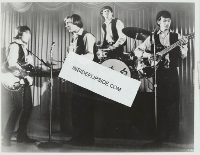 Vintage 1960s Black-And-White Glossy Photo Of The Monkees