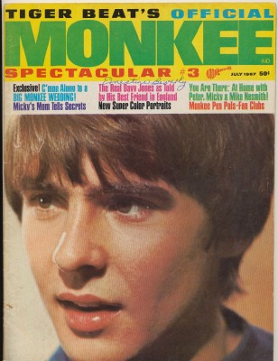 July 1967 Monkee Spectacular #3 Volume 1 Number 3