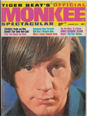 August 1967 Monkee Spectacular #4 Volume 1 Number 4 - Click Image to Close