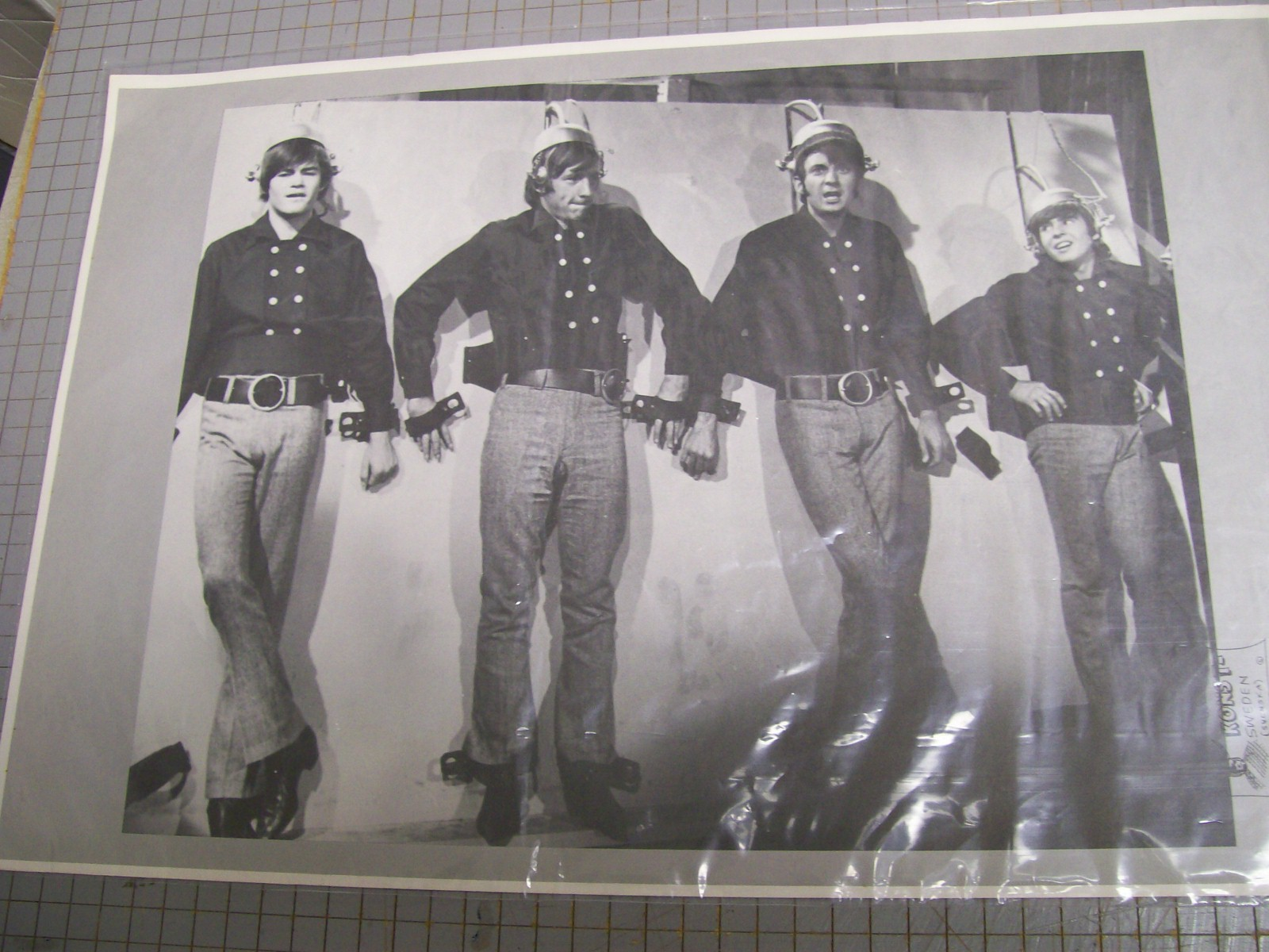 Monkees 2 sided Poster We took the last train to Clarksville