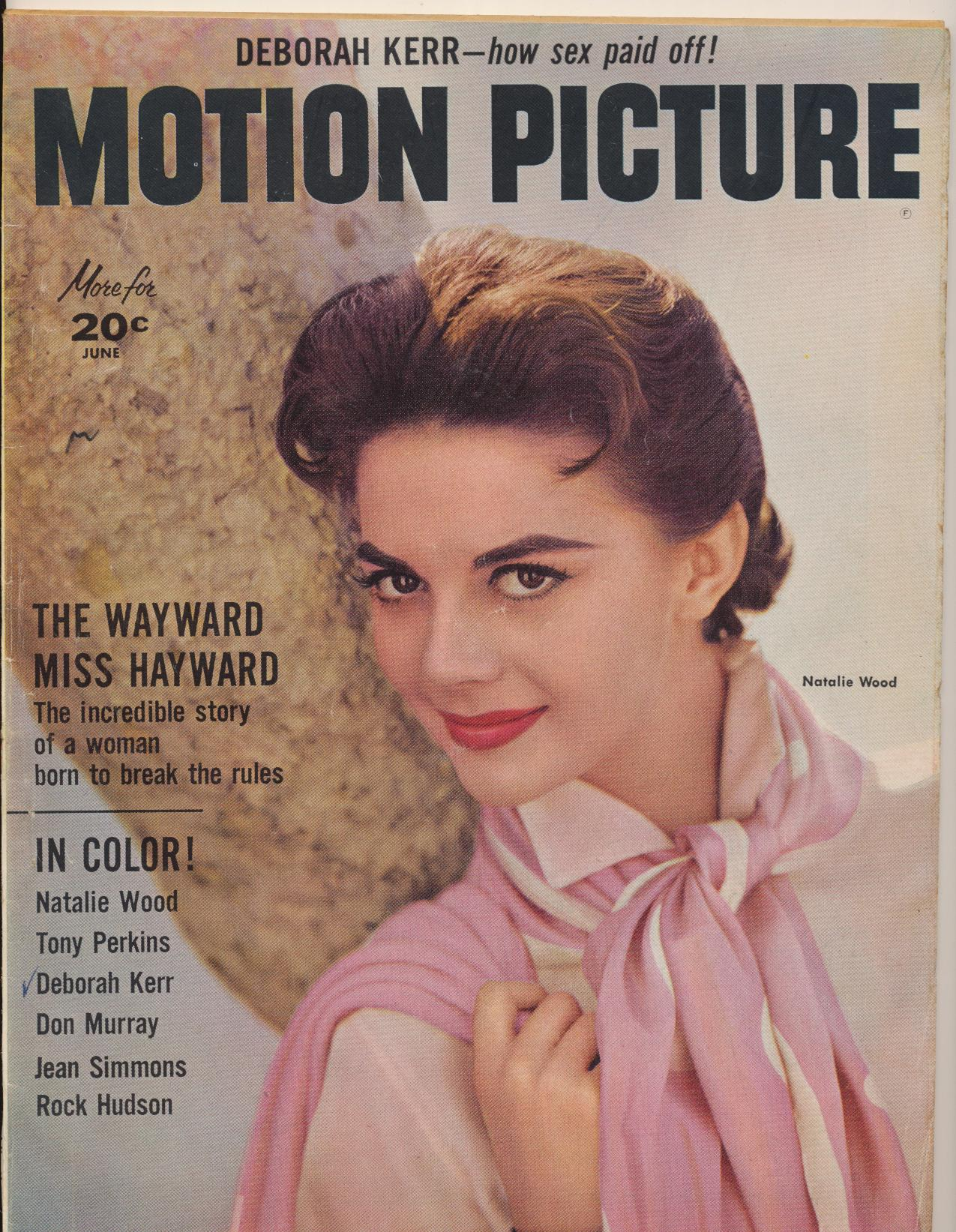 June 1957 Motion Picture Movie Fan Mag - Why Elvis Chases Girls