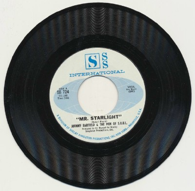 Mr Starlight + Soul Butter - Johnny Barfield & The Men Of Soul