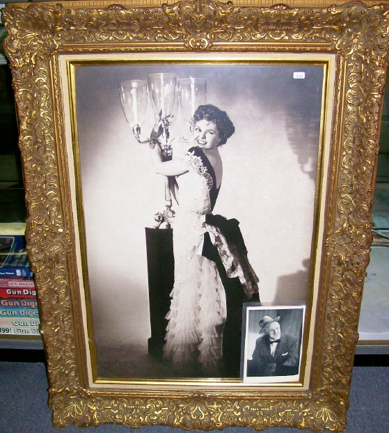 Jimmy Durante's Mrs Calabash Portraits & Autographed Photos