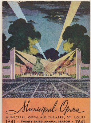 1941 St Louis Municipal Opera Season Program