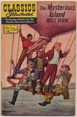 Classics Illustrated #34 - Jules Verne's The Mysterious Island