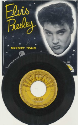 Mystery Train+I Forgot To Remember--Elvis Presley Sun W/Pic Slv
