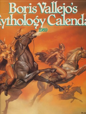1989 Boris Vallejo Mythology Calendar