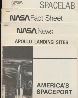 1970s NASA Kennedy Space Center Press Release & Photo Lot