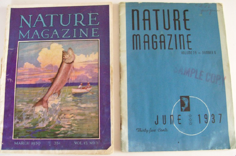 Lot Of 1930s Nature Magazines - Early Conservation Movement