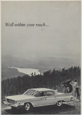 Vintage 1961 Chrysler Newport Showroom Sales Literature