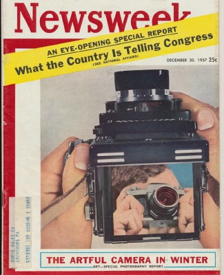 Newsweek - December 30 1957 - Cameras Congress