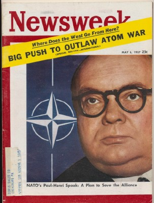 Newsweek - May 6 1957 - NATO Outlawing Atom War