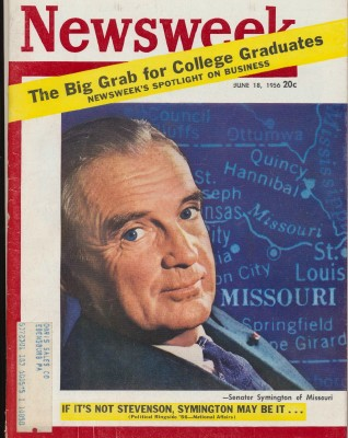 Newsweek - June 18 1956 - Stevenson Symington College Grads