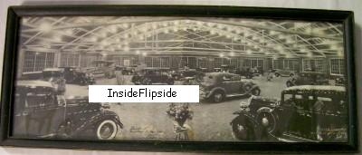 1932 Photo - Airplane & Auto Show - West Lafayette Indiana