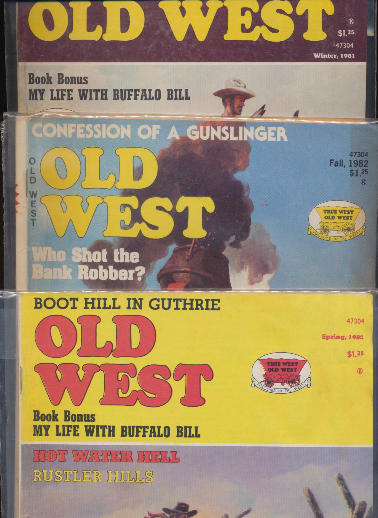 1981-82 Old West - My Life With Buffalo Bill By Dan Muller