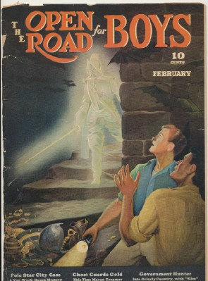 February 1939 Open Road For Boys Magazine