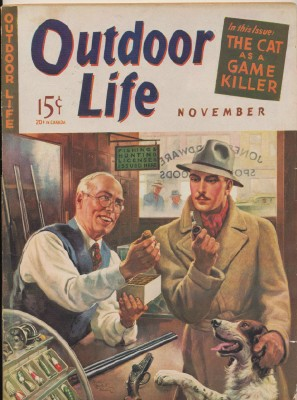 November 1941 Outdoor Life - Walter Haskell Hinton Cover