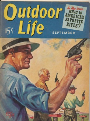 September 1940 Outdoor Life - Edgar Wittmack Cover