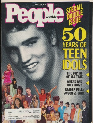 July 27 1992 People Weekly - 50 Years Of Teen Idols