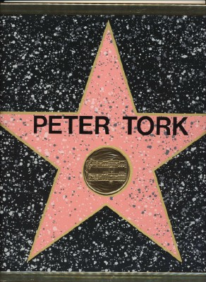 Peter Tork Monkees Hollywood Walk Of Fame Star Replica