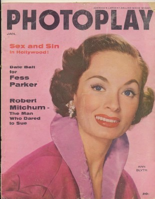 Jan 1956 Photoplay - Ann Blyth Rock Hudson Joan Collins +++