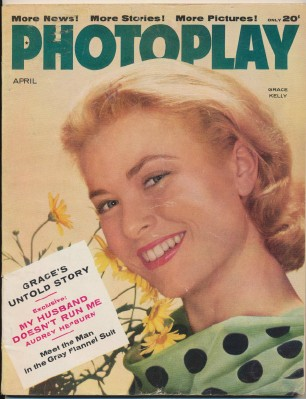 April 1956 Photoplay - Grace Kelly Gordon MacRae Bing Crosby ++