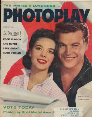 December 1957 Photoplay - Natalie Wood & Robert Wagner Cover