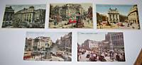 1910s London Street Scene PC Lot - Old Car & Bus Pictures