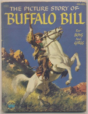1954 Picture Story Of Buffalo Bill For Boys And Girls