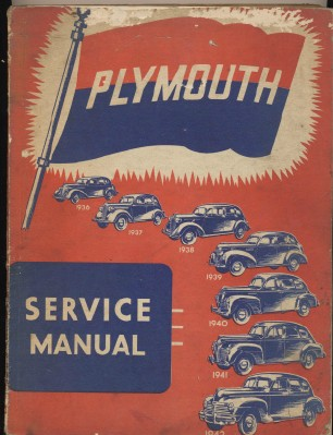 1936 1937 1938 1939 1940 1941 1942 Plymouth Shop Manual